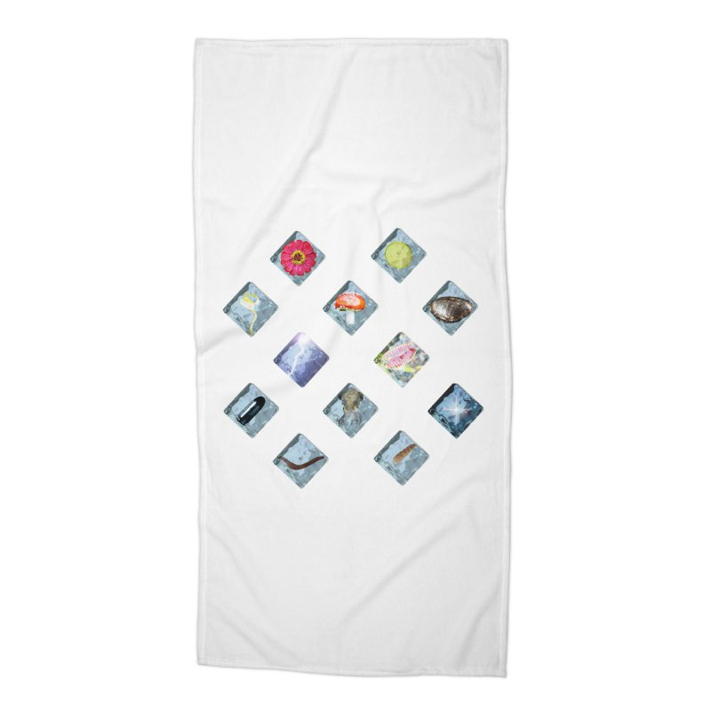 Itemization Accessories Beach Towel by infinityforever's Artist Shop