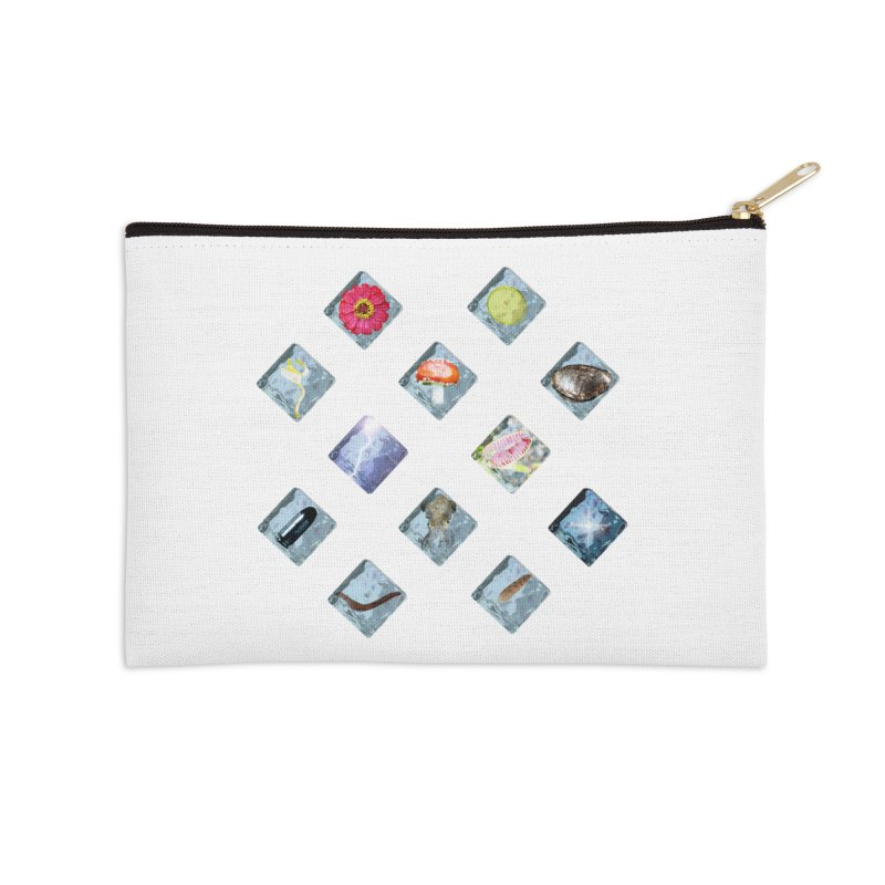 Itemization Accessories Zip Pouch by infinityforever's Artist Shop