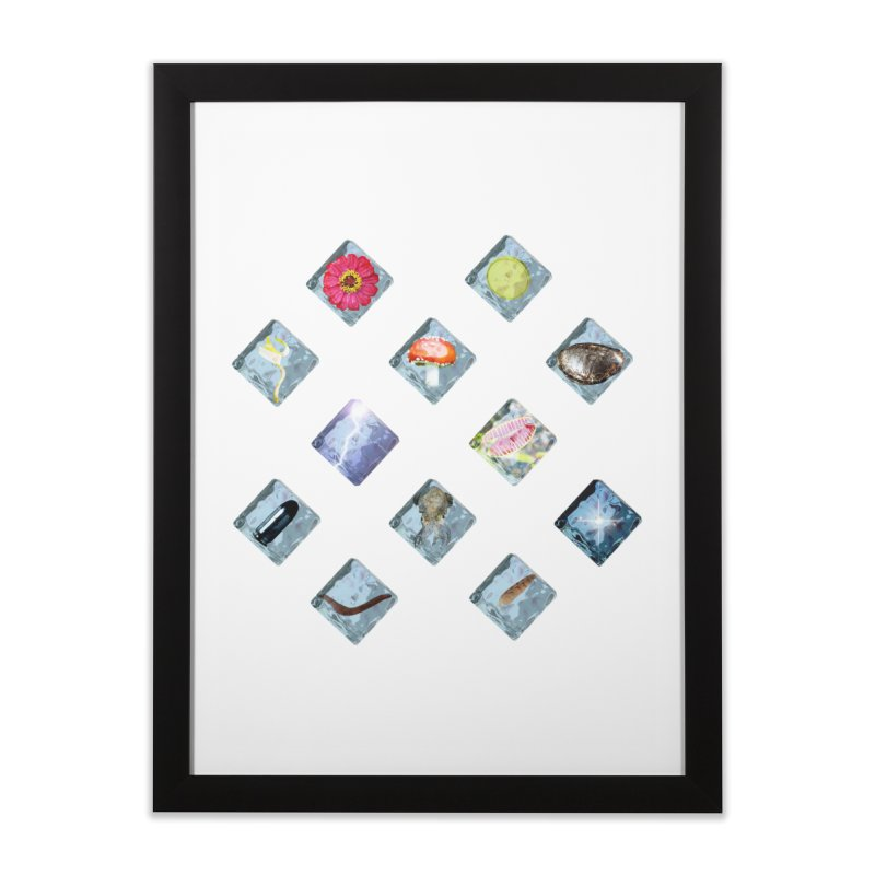 Itemization Home Framed Fine Art Print by infinityforever's Artist Shop