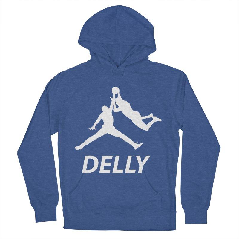 Delly (white logo) Men's Pullover Hoody by infinityforever's Artist Shop