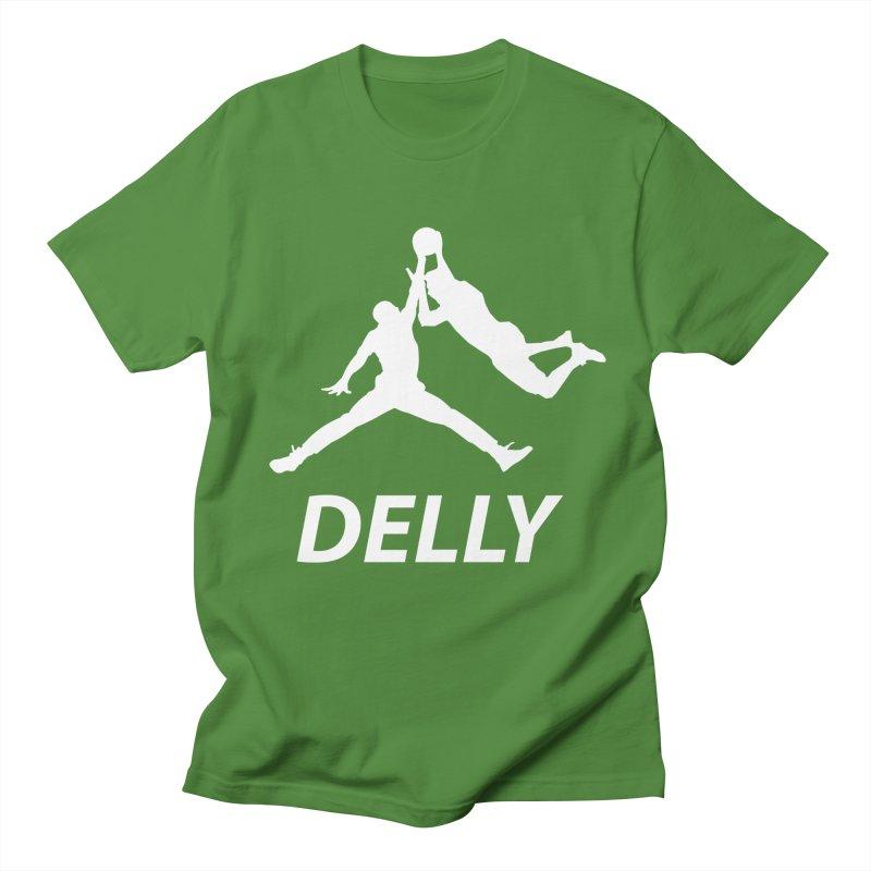 Delly (white logo) Men's T-Shirt by infinityforever's Artist Shop