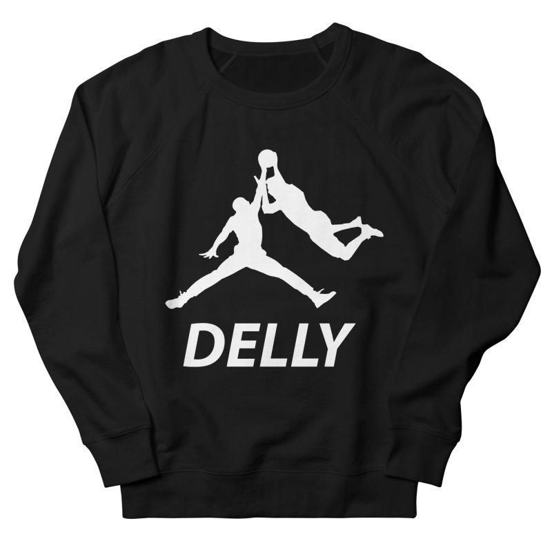 Delly (white logo) Men's Sweatshirt by infinityforever's Artist Shop