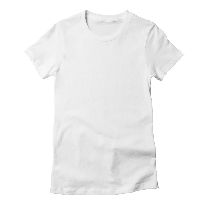 Delly (white logo) Women's Fitted T-Shirt by infinityforever's Artist Shop
