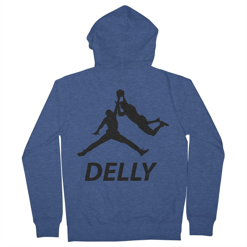 Delly (all black) Women's Zip-Up Hoody by infinityforever's Artist Shop