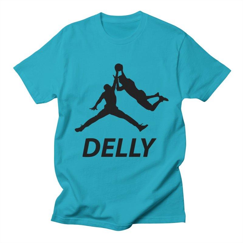 Delly (all black) Men's T-Shirt by infinityforever's Artist Shop