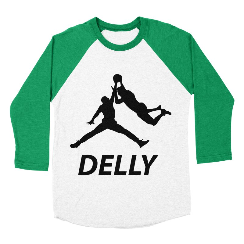 Delly (all black) Women's Baseball Triblend T-Shirt by infinityforever's Artist Shop