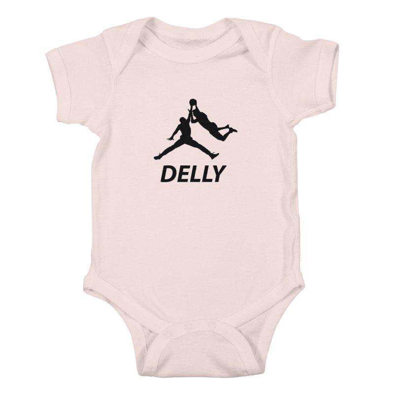 Delly (all black) Kids Baby Bodysuit by infinityforever's Artist Shop
