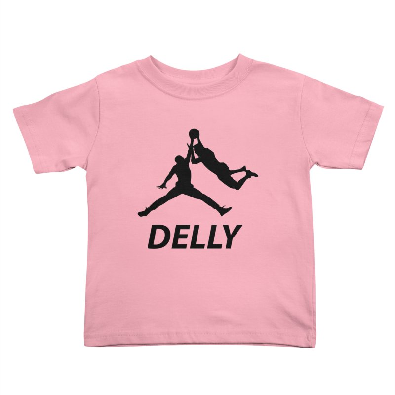 Delly (all black) Kids Toddler T-Shirt by infinityforever's Artist Shop