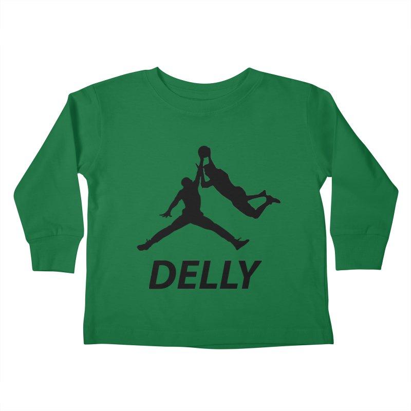 Delly (all black) Kids Toddler Longsleeve T-Shirt by infinityforever's Artist Shop