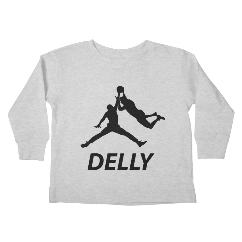 Delly (all black) Kids Toddler Longsleeve T-Shirt by infinityforever's Artist Shop