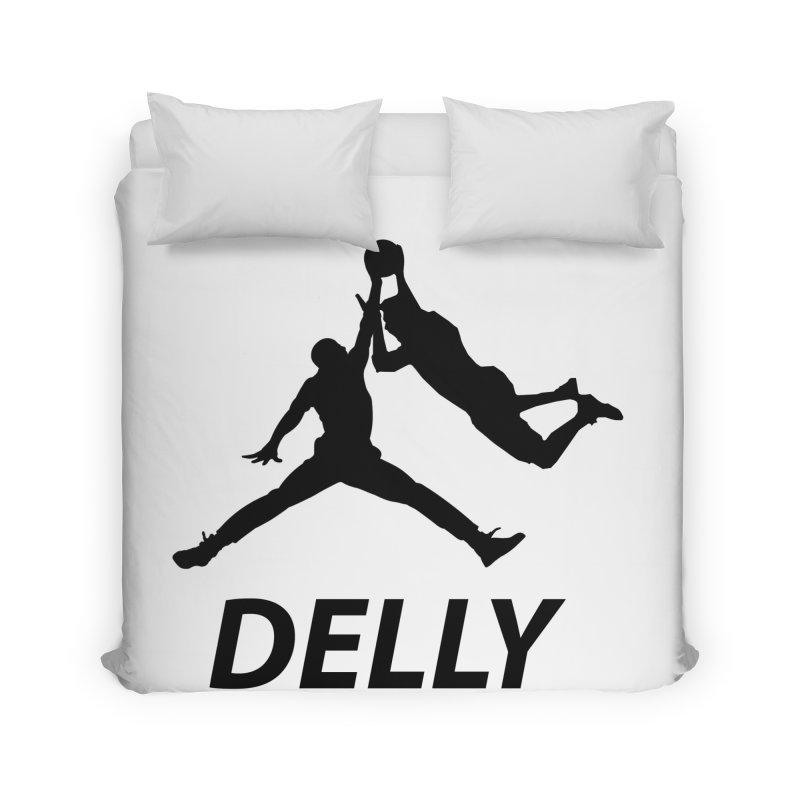 Delly (all black) Home Duvet by infinityforever's Artist Shop