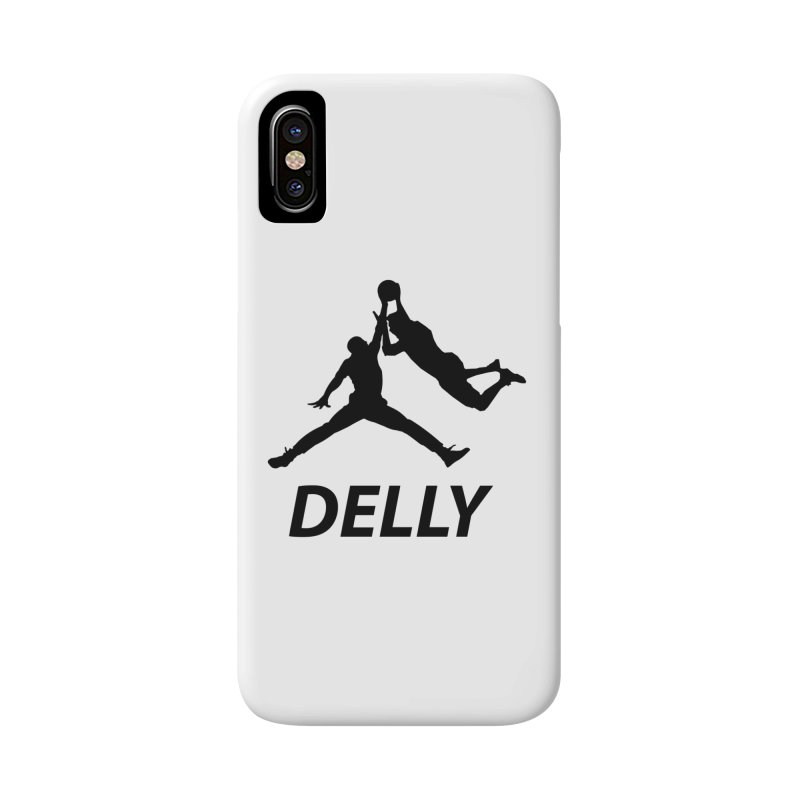 Delly (all black) Accessories Phone Case by infinityforever's Artist Shop