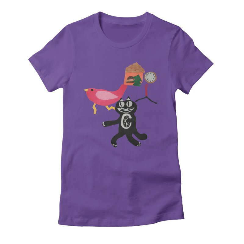 Running out of time Women's Fitted T-Shirt by infinityforever's Artist Shop