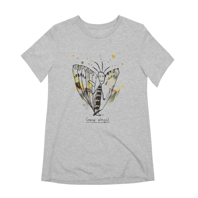Creative Bug Women's Extra Soft T-Shirt by Lill Print Store