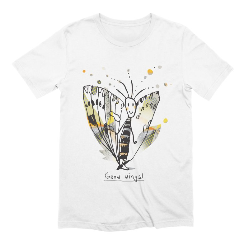 Creative Bug Men's Extra Soft T-Shirt by Lill Print Store