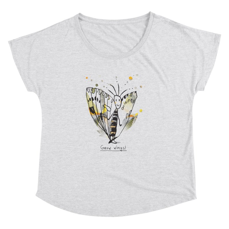 Creative Bug Women's Dolman Scoop Neck by Lill Print Store