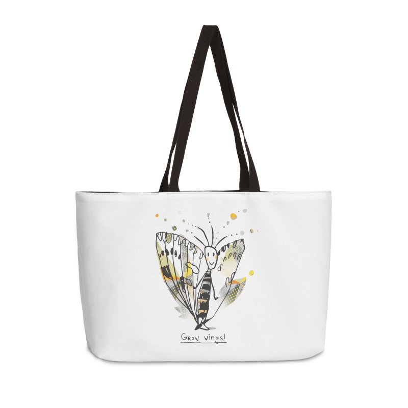 Creative Bug Accessories Weekender Bag Bag by Lill Print Store