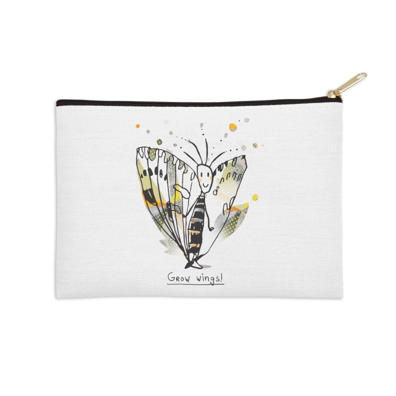 Creative Bug Accessories Zip Pouch by Lill Print Store