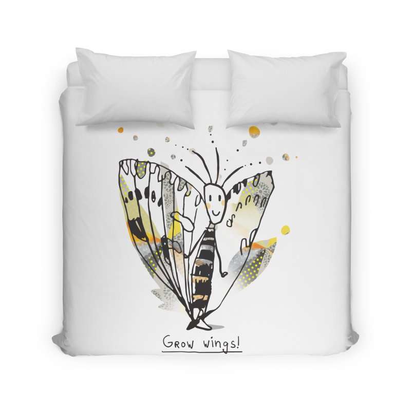 Creative Bug Home Duvet by Lill Print Store