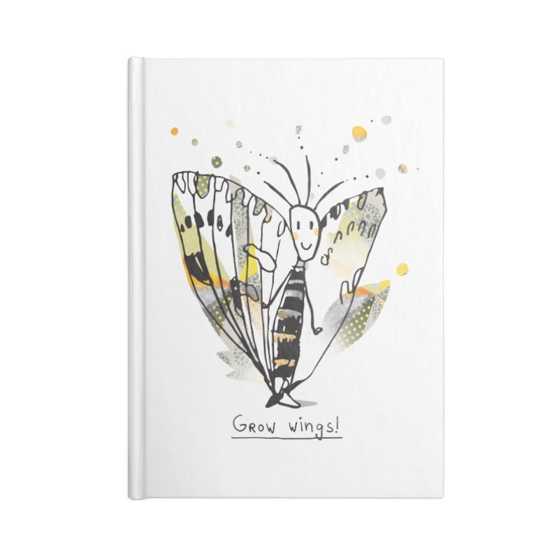 Creative Bug Accessories Blank Journal Notebook by Lill Print Store