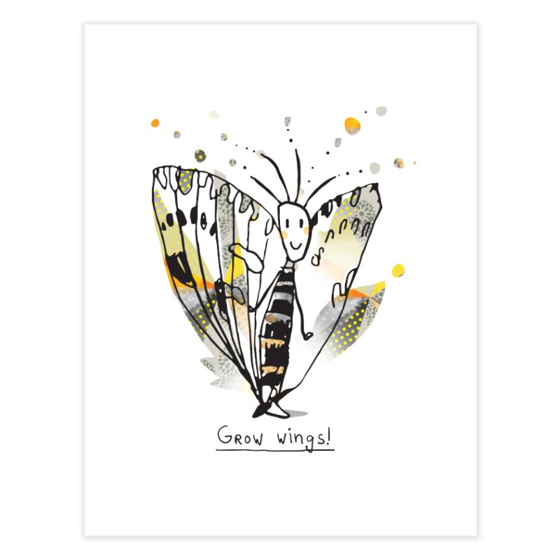 Creative Bug Home Fine Art Print by Lill Print Store