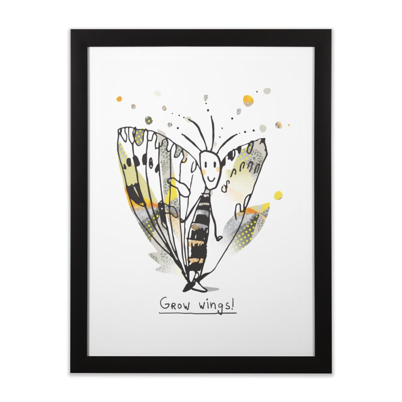 Creative Bug Home Framed Fine Art Print by Lill Print Store