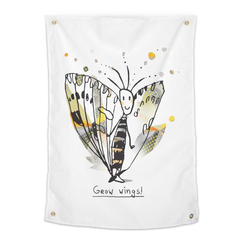 Creative Bug Home Tapestry by Lill Print Store