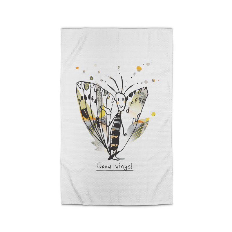Creative Bug Home Rug by Lill Print Store
