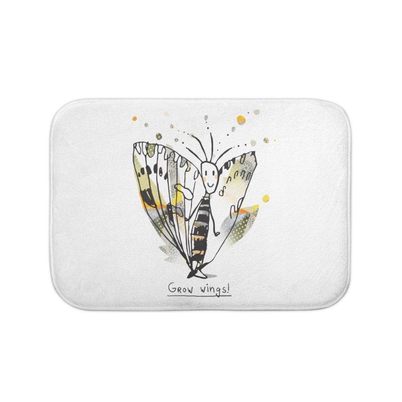 Creative Bug Home Bath Mat by Lill Print Store