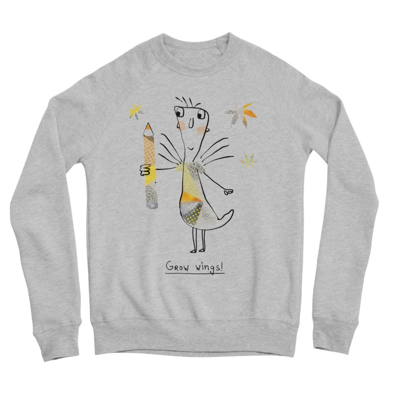 Creative chicken Men's Sponge Fleece Sweatshirt by Lill Print Store