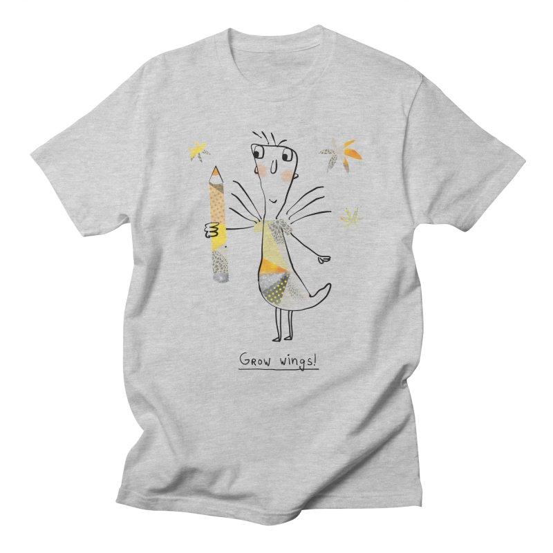 Creative chicken Men's Regular T-Shirt by Lill Print Store