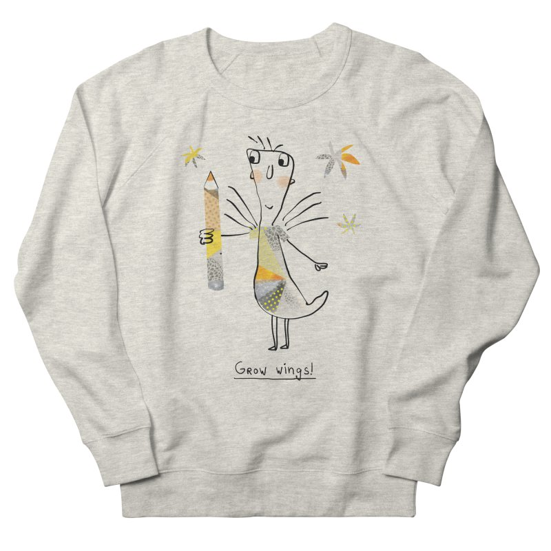 Creative chicken Men's French Terry Sweatshirt by Lill Print Store