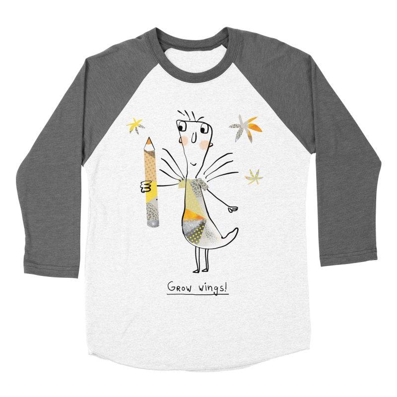 Creative chicken Women's Baseball Triblend Longsleeve T-Shirt by Lill Print Store