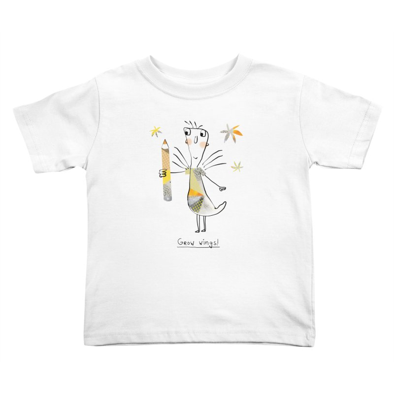 Creative chicken Kids Toddler T-Shirt by Lill Print Store