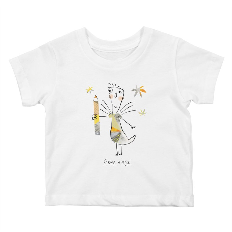 Creative chicken Kids Baby T-Shirt by Lill Print Store