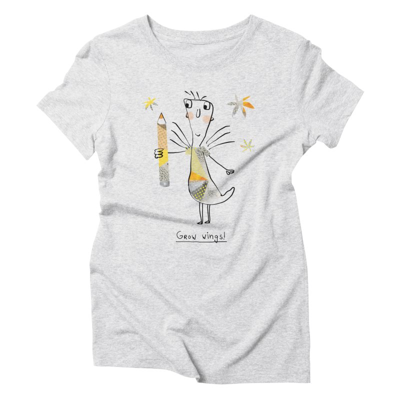 Creative chicken Women's Triblend T-Shirt by Lill Print Store
