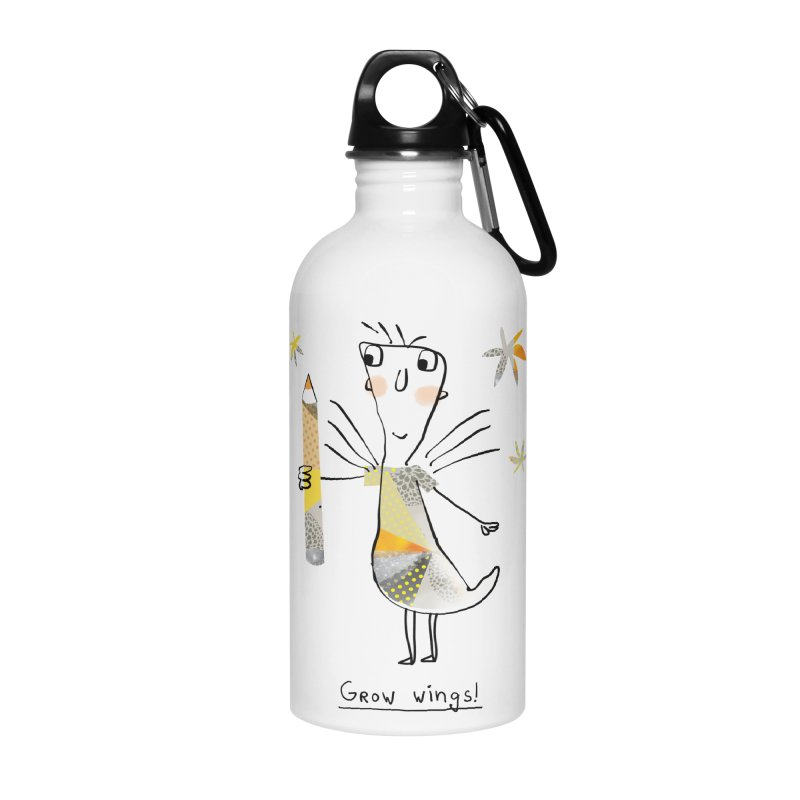 Creative chicken Accessories Water Bottle by Lill Print Store