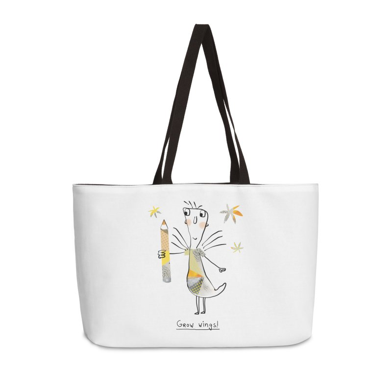 Creative chicken Accessories Weekender Bag Bag by Lill Print Store