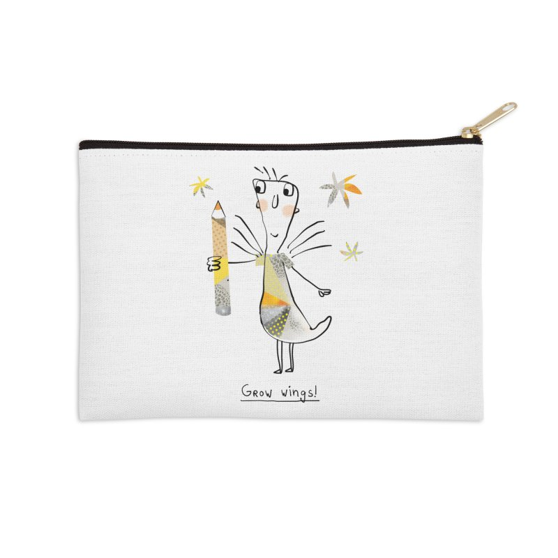 Creative chicken Accessories Zip Pouch by Lill Print Store