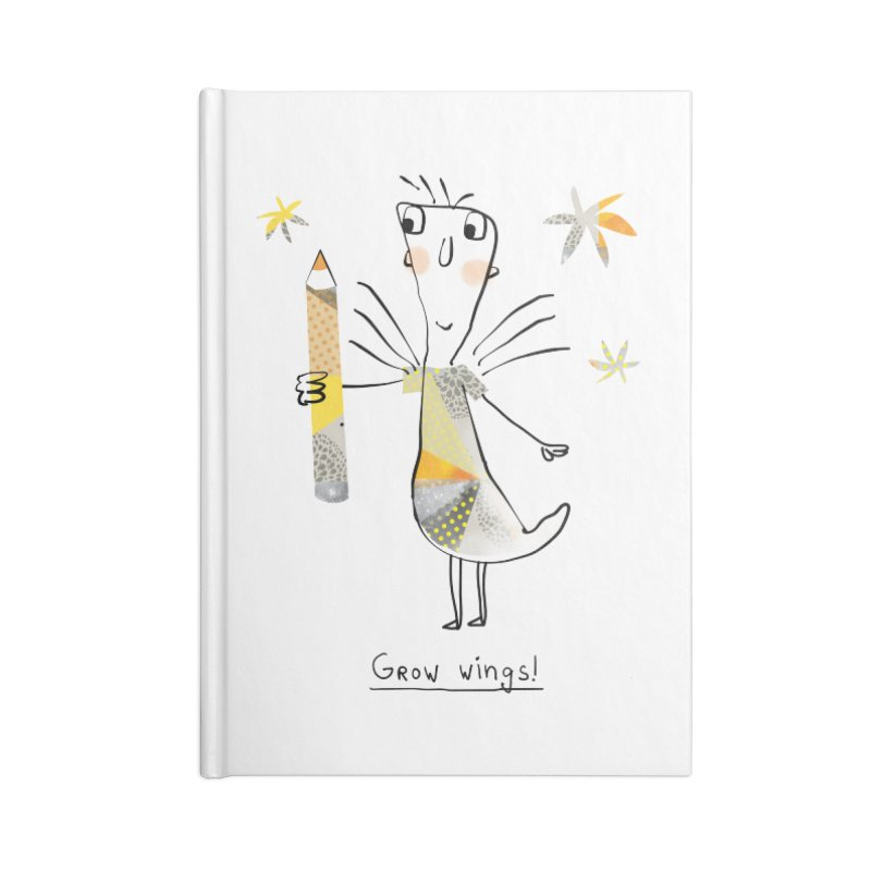 Creative chicken Accessories Blank Journal Notebook by Lill Print Store