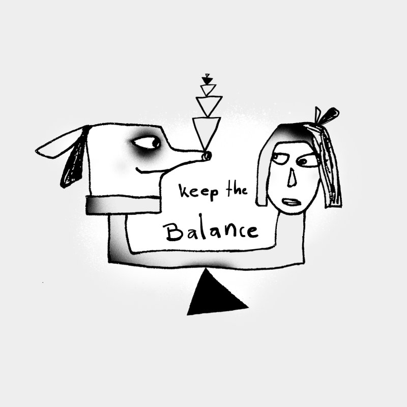 Keep the balance by Lill Print Store
