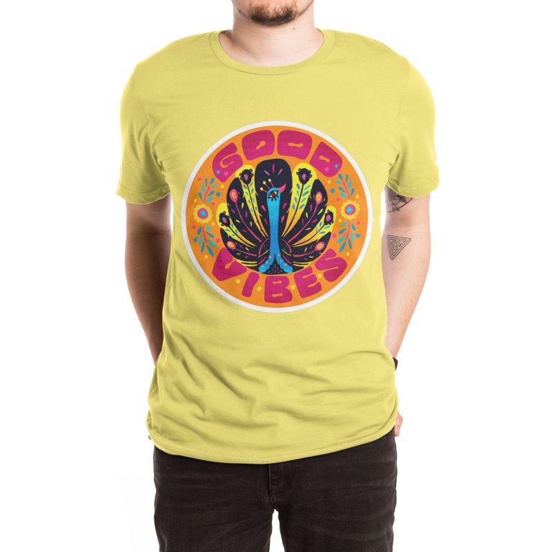 Good Vibes Men's T-Shirt by La Tiendita