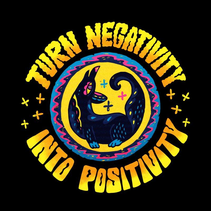 Turn Negativity Into Positivity Accessories Face Mask by La Tiendita