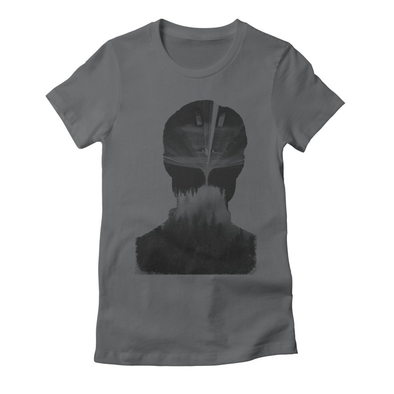 A Road Within Women's Fitted T-Shirt by Ink and Graphite's Artist Shop