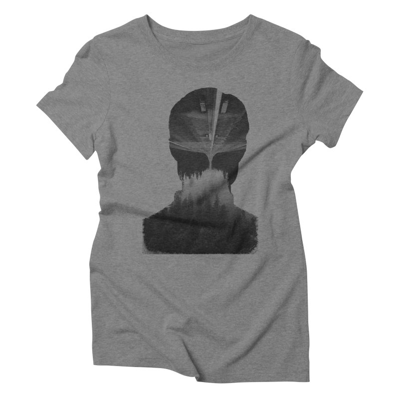 A Road Within Women's Triblend T-Shirt by Ink and Graphite's Artist Shop