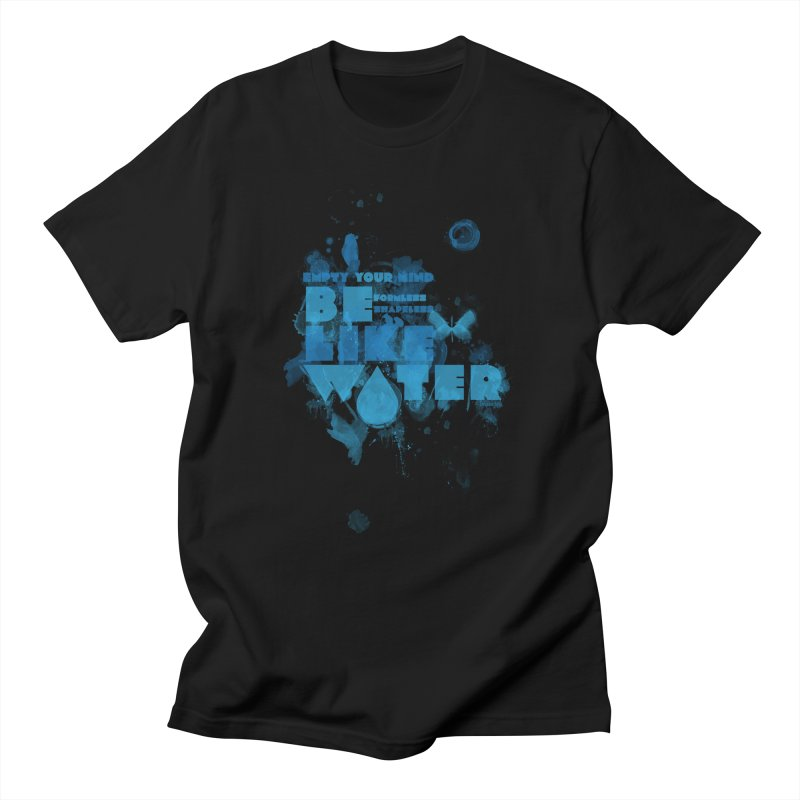 be water Men's T-Shirt by Ink and Graphite's Artist Shop