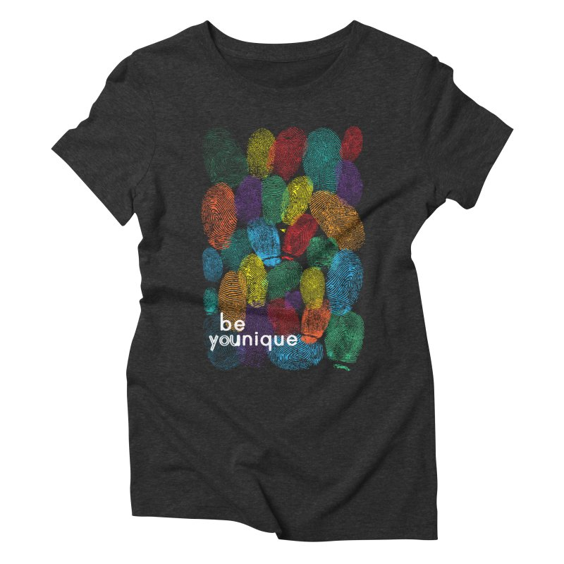 be you Women's Triblend T-Shirt by Ink and Graphite's Artist Shop