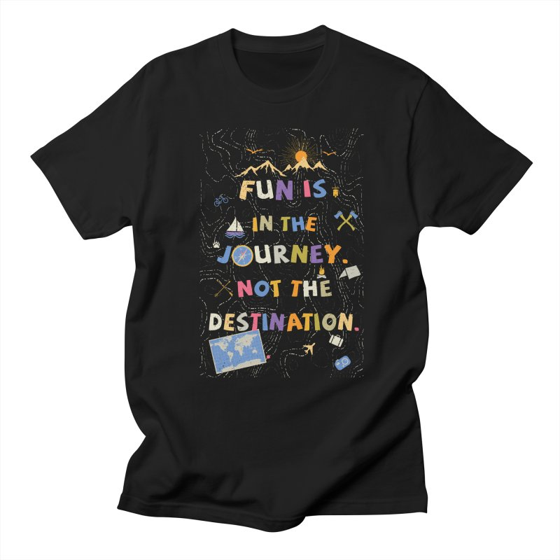 The Journey Men's T-Shirt by Ink and Graphite's Artist Shop