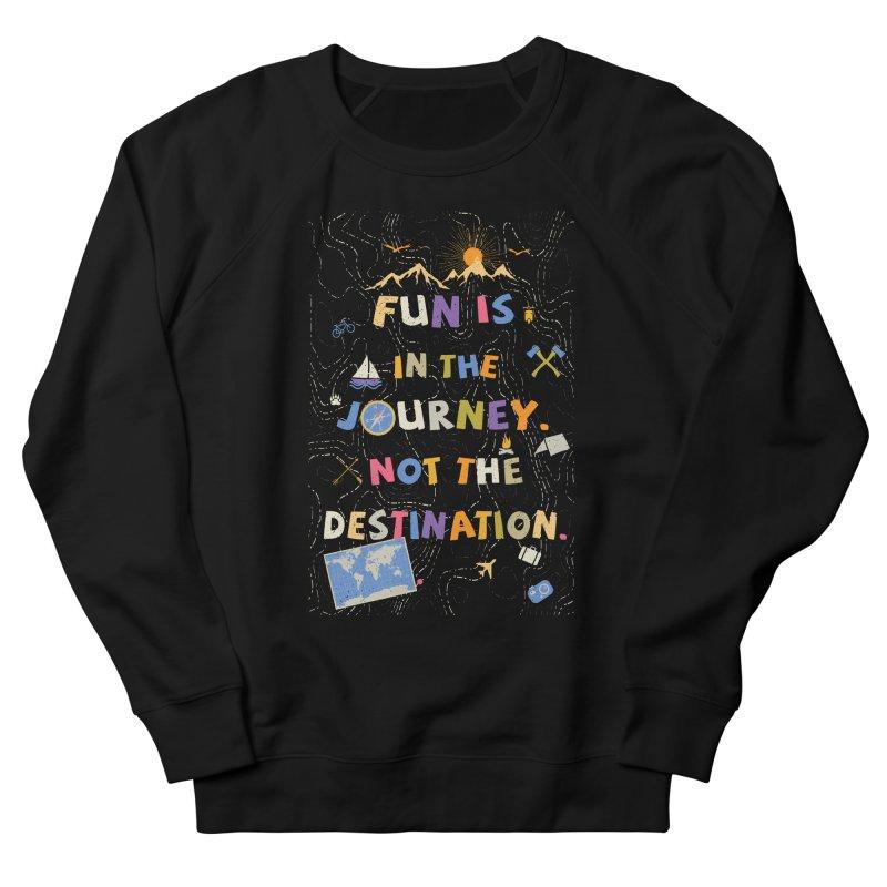The Journey Men's Sweatshirt by Ink and Graphite's Artist Shop