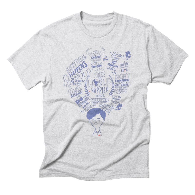 believe Men's Triblend T-shirt by Ink and Graphite's Artist Shop